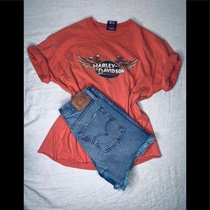 Vintage Harley Davidson Shirt .